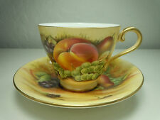 Aynsley Orchard Gold Cup and Saucer Set