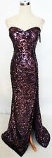 FAVIANA GLAMOUR BORDEAUX Pageant Evening Gown 8 - $398