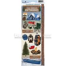 PAPER HOUSE GREAT OUTDOORS CAMPING NATURE HIKE STICKERS