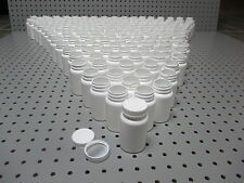 Lot of (175) 100cc ml White Plastic Packer Bottles Storage Container Vitamin WH5