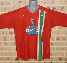 XL MENS JUVENTUS SOCCER JERSEY THIRD STRIP 2005 PRE OWNED MAGLIA LA CAMISETA