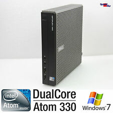 DEEL OPTIPLEX 160 INTEL ATOM 330 DUAL CORE MINI KLEIN COMPUTER PC WINDOWS XP 7