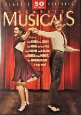CLASSIC MUSICALS: 50 MOVIE MEGA PACK OF 12 Discs, DVD Region 1, NEW SEALED