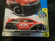 HW HOT WHEELS 2017 HW SPEED GRAPHICS #7/10 HONDA ODYSSEY RED HOTWHEELS VAN