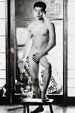 1960s Vintage JAPANESE MALE NUDE Asian Photo Art Gay Interest 11x14 TAMOTSU YATO
