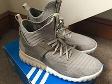 Mens Rare Sold Out Tubular X Knit Sesame Clay Adidas Trainers Uk Size 11