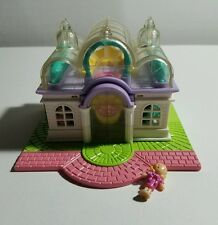 Vintage Bluebird Polly Pocket Light-up Bridal Salon w/ 1 Doll