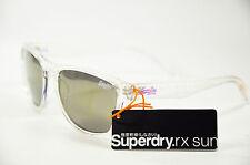 Superdry SND Rockstar 120 Damen Herren Unisex Kunststoff Clear Sonnenbrille