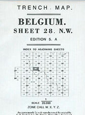 TRENCH MAP OF BELGIUM ED4A