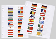 EU Flag Sets for Numis - Additional Pages- NEW 27 Flags