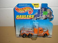 NEW Sweet RARE 1998 Hot Wheels Haulers Racing Car Parts Delivery Semi Truck