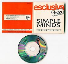 Simple Minds 3 INCH-cd-promo MADE IN ITALY - 3 -Track - MAX CD 1 -  don't you +2