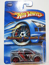 HOT WHEELS 2005 VOLKSWAGEN NEW BEETLE CUP #142 PR5 WHEELS