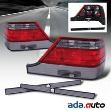 1997-1999 Mercedes Benz W140 S Class Red Smoke Tail Lights+LED Fog Lamps[Combo]