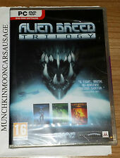NUOVO SIGILLATO ALIEN Breed Trilogy 1 2 3 WINDOWS PC DVD ROM DISC VERSIONE TEAM 17