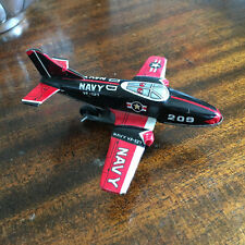 Vintage US Navy VF-127 TIN Friction Toy Sea Plane Made in Japan tin toy lot