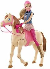Saddle 'N Ride Horse By Barbie Doll