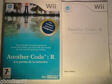 WII WII U ANOTHER CODE R NINTENDO WII ANOTHER CODE R WII