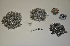 lot of metal studs cone, pyramid studs Punk DIY Cosplay steam punk goth