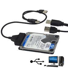 USB 2.0 a SATA Esterno HDD SSD Unità disco rigido Adattatore Cavo convertitore