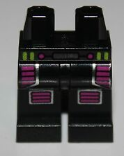 LeGo Black Hips and Legs with Purple Leg and Knee Protection Pattern
