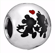 1Pcs Funny White/Black Charms Silver bead For 925 Bracelet/Necklace