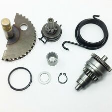 49cc 50cc GY6 Kick start Gear Starter Motor Clutch Gear Bendix Scooter Moped ATV