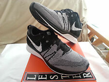 Nike Flyknit Trainer Black White 532984 010 Padded Size 9.5 DS Kanye Yeezy HTM