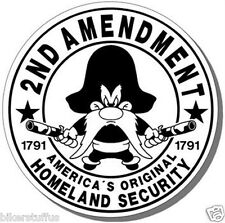 2ND AMENDMENT STICKER 1791  BLACK ON WHITE