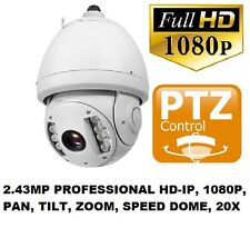 Xvision 2.43MP PROFESSIONAL 1080P PTZ IP Speed Dome Camera 320x Zoom 120mIR 20X