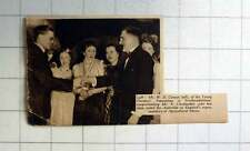 1938 Young Farmers Northumberland, Wd Carson Congratulating E Christopher