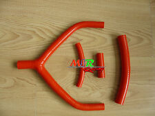 All Silicone radiator Hose kit For YAMAHA YZ250 1990-1994 & WR250 1991-1993 RED