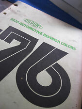 1976  DuPont Color master all makes with Chips GM Ford Chrysler AMC etc