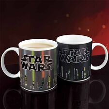 Star Wars Lightsaber Heat Colour Changing Coffee Mug Changes Color Novelty Xmas