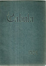 1924 Oak Park River Forest High School Tabula Yearbook