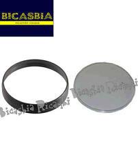 1141 GHIERA NERA E PLASTICA CONTACHILOMETRI VESPA PX 125 150 200 150 ARCOBALENO