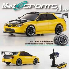 Kyosho MINI-Z AWD Sports MA-020S IMPREZA WRX Aero Metallic Yellow Car RS RTR