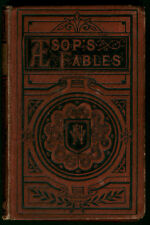 FABLES OF AESOP AND OTHERS: W/ INSTRUCTIVE APPLICATIONS SAMUEL CROXALL 1878  HB