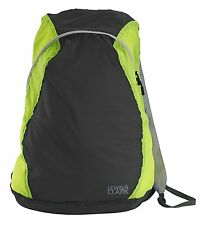 Lewis N Clark Electrolight Backpack Charcoal/Neon Lemon 1101CHN