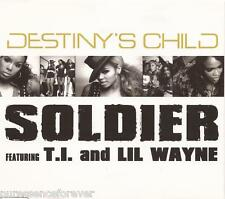 DESTINY'S CHILD - Soldier (ft T.I. & LIL' WAYNE) (UK 2 Tk CD Single Pt 1)