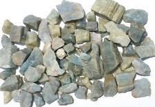 1/4 LB Natural Blue Green Aquamarine Rough Beryl Crystals *$1COMBO SHIP USA*