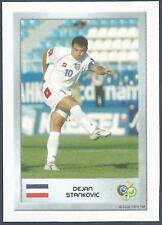 PANINI FIFA WORLD CUP-GERMANY 2006- MINI SERIES- #050-SERBIA-DEJAN STANKOVIC