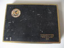 Ancienne boite (vide) à cigarettes PLAYER'S NAVY CUT