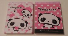 San-x Tare Panda Kawaii Mini Memo pad Lot Stationery Japan Tarepanda Rare