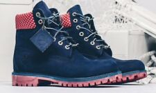 "NEW TIMBERLAND X VILLA Sz 12 OLD GLORY 6"" PREMIUM BOOT LIMITED RARE DS LTD NAVY"