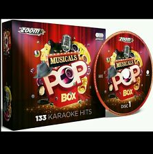 Zoom karaoke cdg comédies musicales pop box 6 cdg 133 hits, broadway, west end films