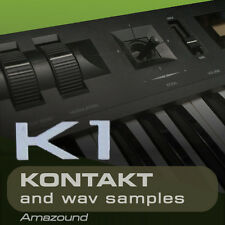 KAWAI K1 and K1II for KONTAKT 128 .nki  PATCHES 1024 WAV SAMPLES 24BIT 1.3 GB