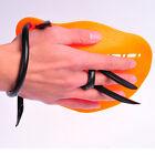 NEW YINGFA swim swimming training hand paddle S M L orange sliver red blue black