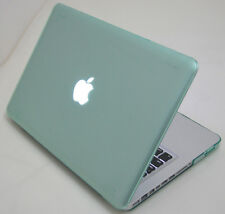 "Green Crystal Hard case Rubberized KB cover For Old Macbook white 13 13.3"" A1181"