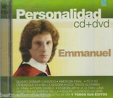 CD / DVD Emmanuel CD Personalidad 17 Tracks & 12 Videos BRAND NEW